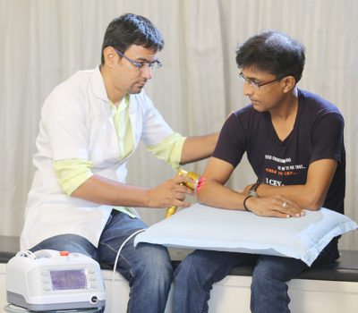 laser therapy- best physiotherapy treatment in gandhinagar