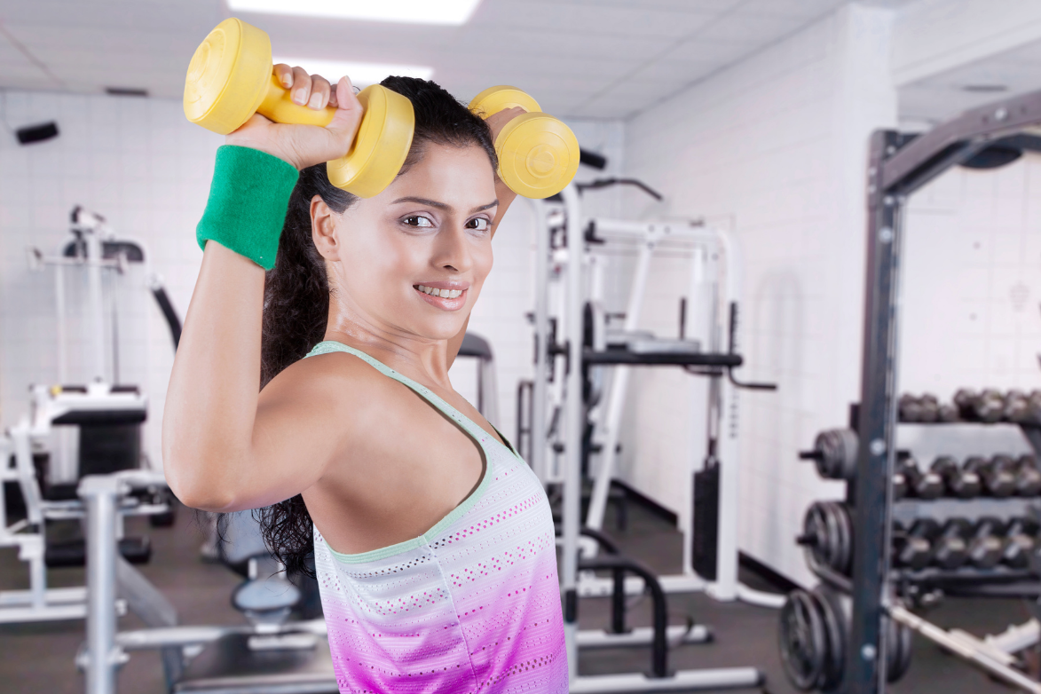 Physiotherapy exercises to reach goal